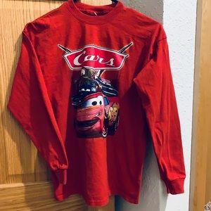 Young Boys Disney Pixar Cars Long Sleeve Tee